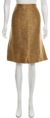 Barneys New York Barney's New York Linen Knee-Length Skirt