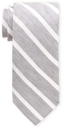 Piattelli Bruno Stripe Pattern Tie