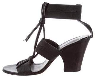 Zero Maria Cornejo Multistrap Leather Sandals
