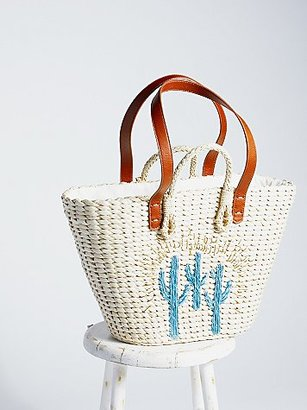 Sundrenched Straw Tote by Free People $68 thestylecure.com