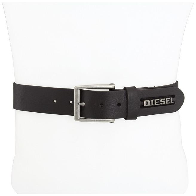 Diesel Bill Service Belt (Dark Brown) - Apparel