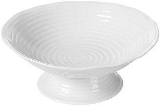 Portmeirion Sophie Conran Tate Footed Serving Bowl - White