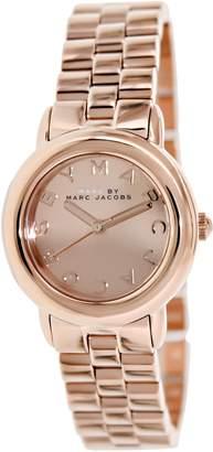 Marc Shoes by Women's Mini Marci MBM3175 Rose- Stainless-Steel Quartz Watch