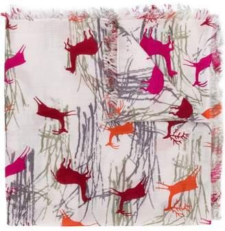Hemisphere Palma printed scarf