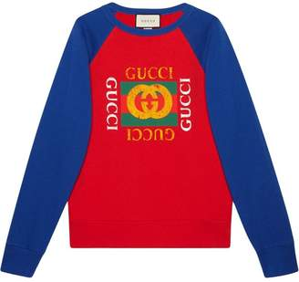 0bdbdbdf Gucci Cotton jersey sweatshirt with logo