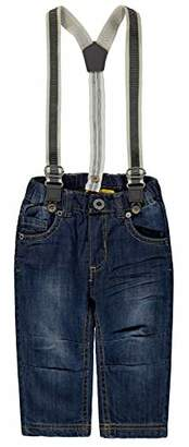 Steiff Boy's Hose m. Hosenträgern Jeans
