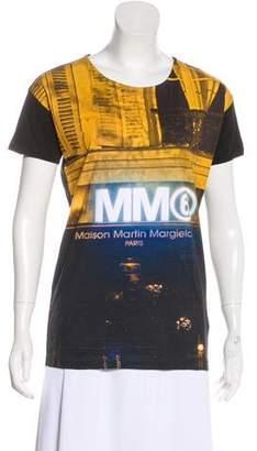 MM6 MAISON MARGIELA Printed Crew Neck T-Shirt