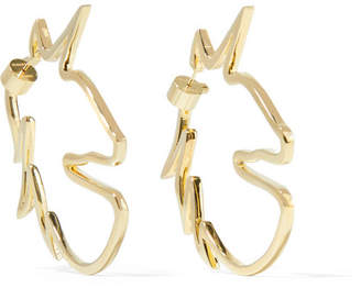 Jennifer Fisher Unicorn Gold-plated Earrings