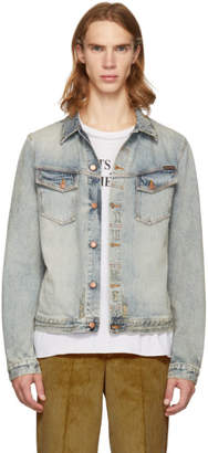 Nudie Jeans Blue Denim Kenny Salvatore Replica Jacket