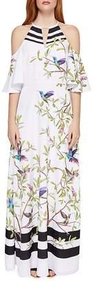 Ted Baker Yarpa Highgrove Cold-Shoulder Maxi Dress