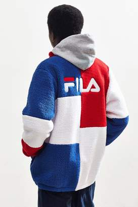 Fila UO Exclusive Chavis Colorblock Sherpa Jacket