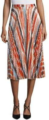 Delfi Collective Clara Pleated Skirt