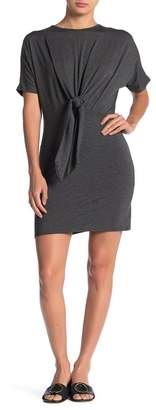 Velvet Torch Tie Front Knit Dress
