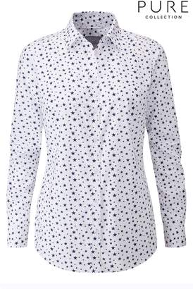 Next Womens Pure Collection White Cotton Shirt