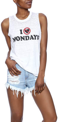 Chaser No Monday's Graphic Tank