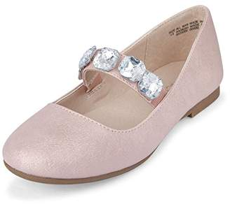 Children's Place The Girls' Bow Ballet Flat