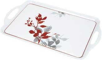 Corelle Kyoto Leaves Rectangular Melamine Tray