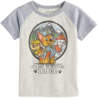 Nickelodeon Toddler Boy Jumping Beans Paw Patrol Chase Rubble & Marshall Short-Sleeve Tee