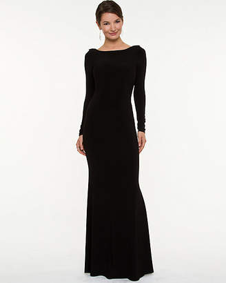 Le Château Knit Backless Gown