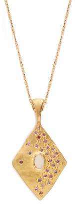 Orit Elhanati - Pink Sky Yellow Gold Necklace - Womens - Gold