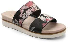 Kensie Dominic Floral Slides