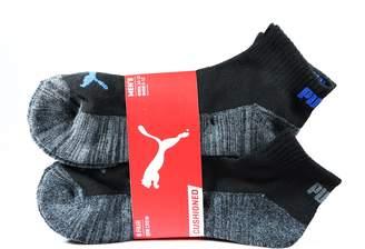 Puma Inc. Men's Quarter Crew Low Cut Socks - 6 Pairs, Shoe Size 6 - 12