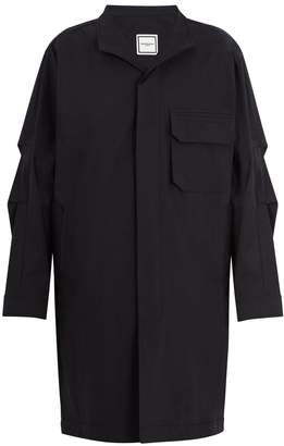 Wooyoungmi Patch-pocket cotton-blend overcoat