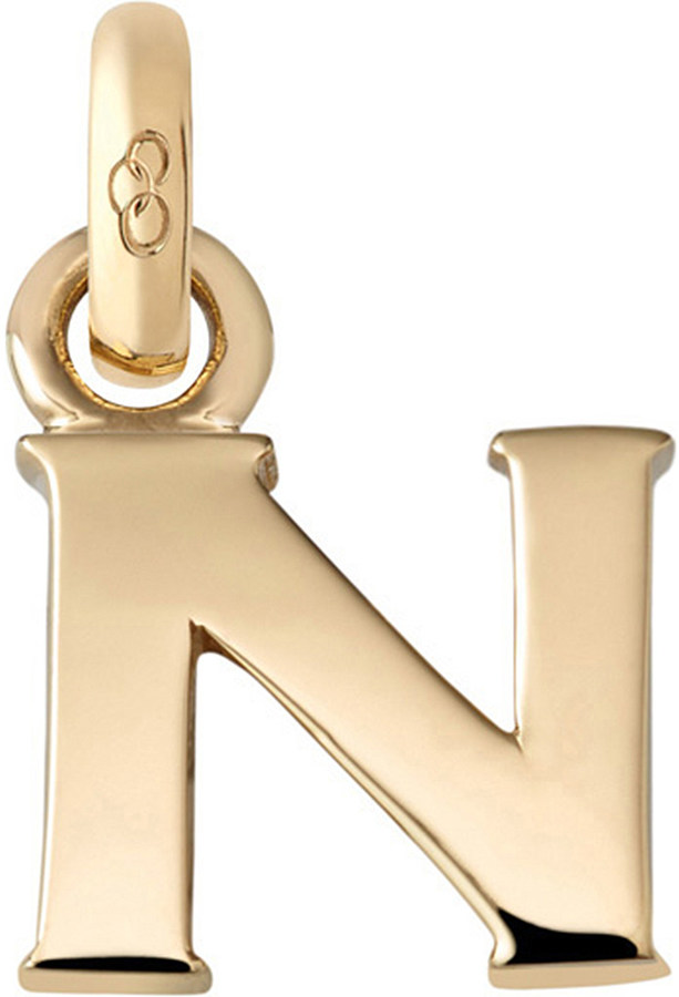 Links Of LondonLinks of London Alphabet N 18ct yellow gold charm