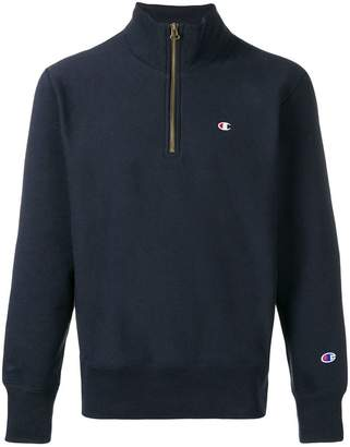 Champion zip-up pullover