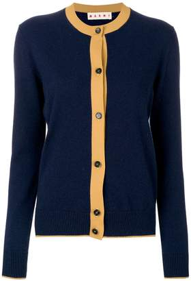 Marni dual colour cashmere blouse