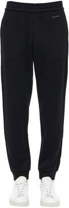 Giorgio Armani Jersey Sweatpants W/logo Details