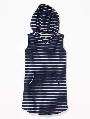 Old Navy Hooded Sleeveless Swim Cover-Up for Girls