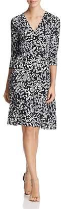 Leota Perfect Wrap Three-Quarter Sleeve Dress $148 thestylecure.com