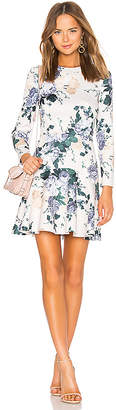 Lover Peony Mini Flip Dress