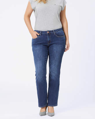 Jeanswest Curve Embracer Bootcut Jeans Sea Blue