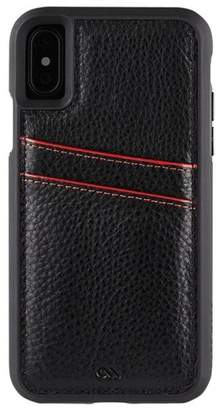 Case-Mate iPhone Xs / X Black ID Case