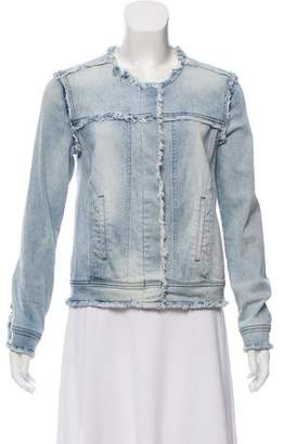 Generation Love Collarless Denim Jacket