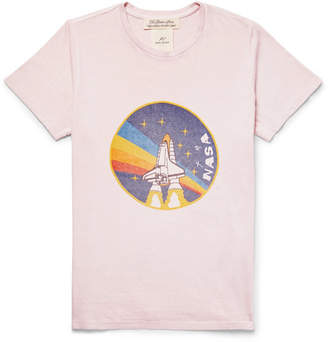Remi Relief Slim-Fit Printed Cotton-Jersey T-Shirt