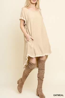 Umgee USA Linen Blend Dress