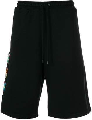 Marcelo Burlon County of Milan Flags shorts