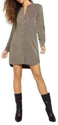 BCBGeneration Slit-Sleeve Shirtdress