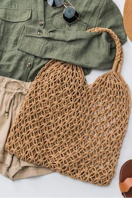 Trend:Notes Fish Net Boho Bag