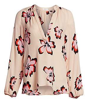 A.L.C. Women's Jules Floral Long Sleeve Blouse
