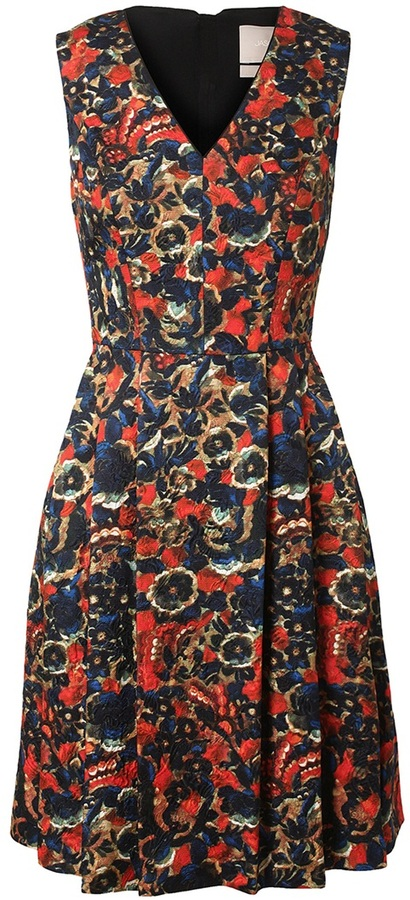 Jason Wu Floral brocade dress