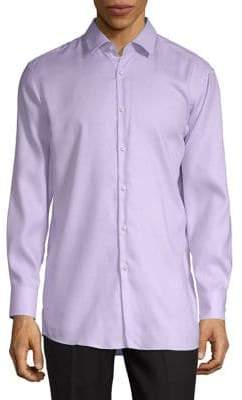 HUGO BOSS Mabel Micro Print Dress Shirt
