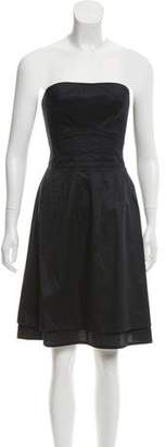 Marc by Marc Jacobs Strapless A-Line Dress