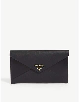 Prada Leather envelope wallet