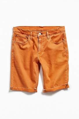 Levi's Levi's 511 Cut-Off Orange Denim Short