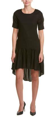 Gracia Linen-Blend Midi Dress