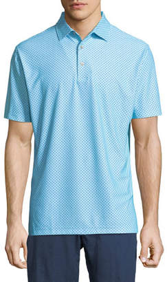 Peter Millar Covered Printed Polo Shirt